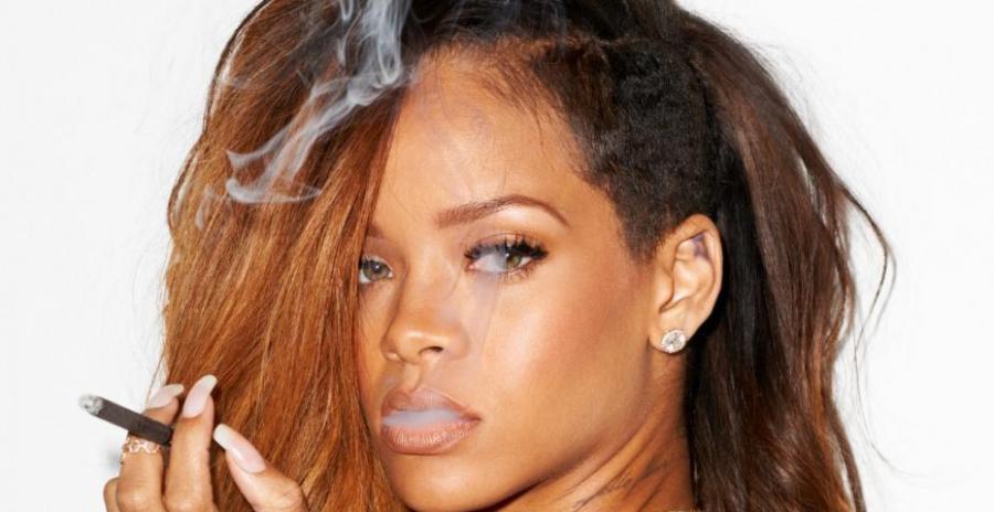 Rihanna, la chanteuse barbadienne