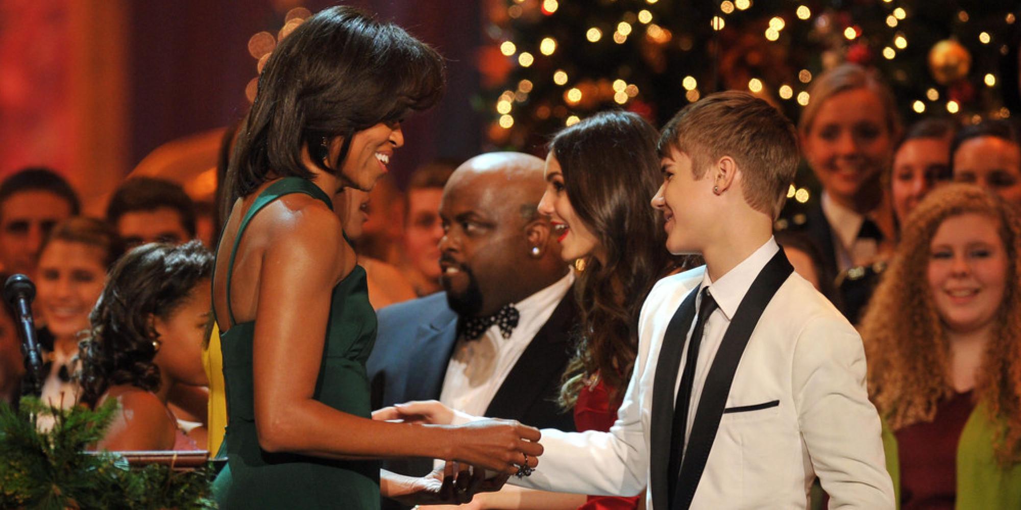 Michelle Obama : «Justin Bieber est toujours un enfant»