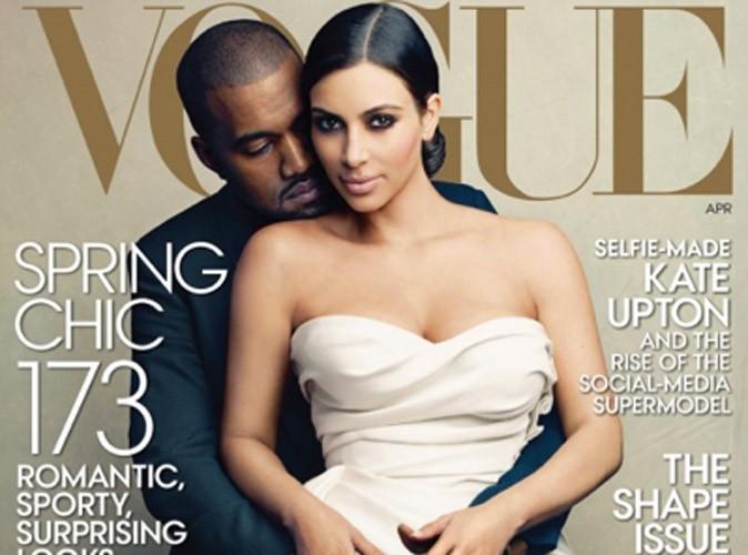 Kim Kardashian et Kanye West en Une du magazine Vogue : les professionnels de la mode sont scandalisés !