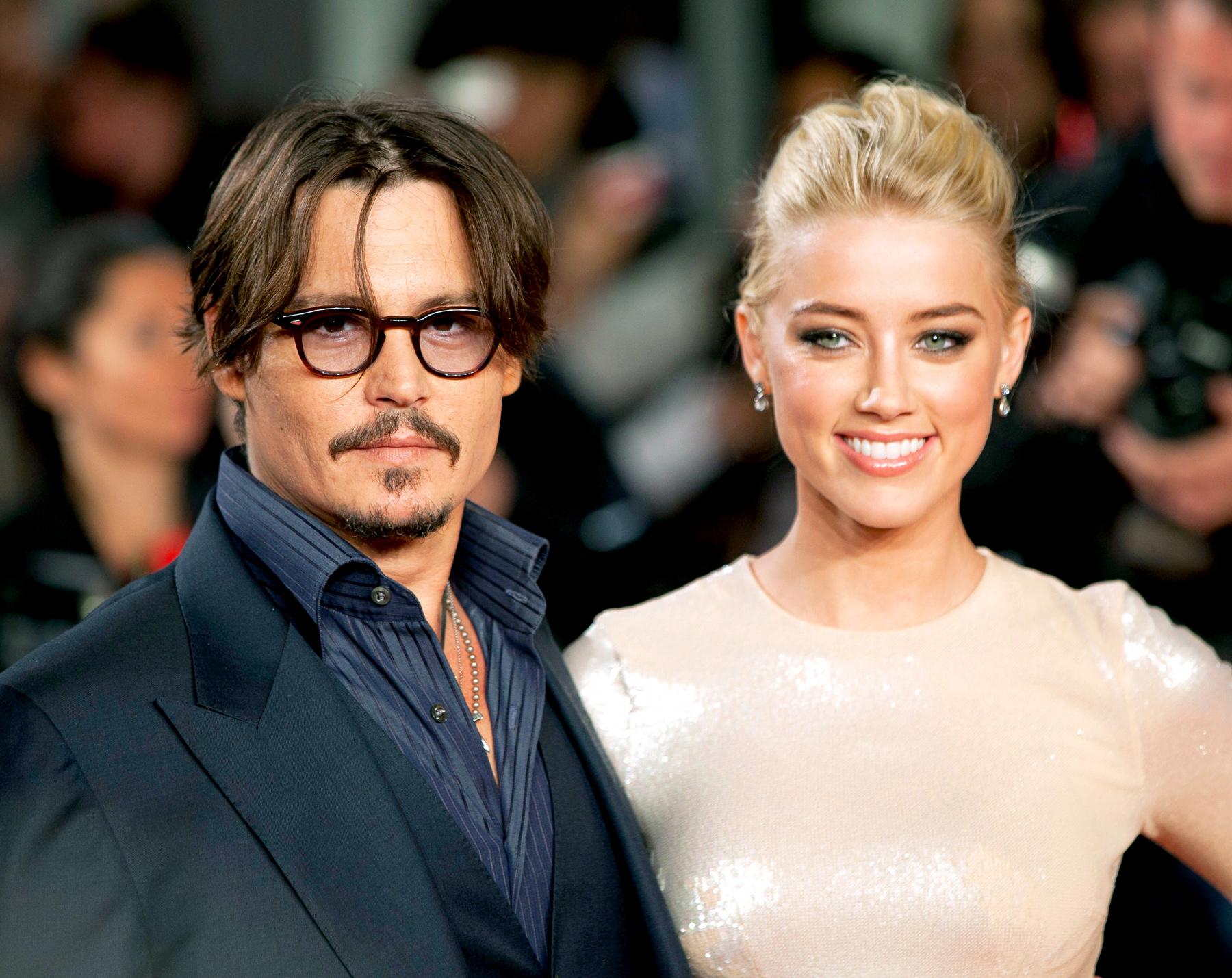 Johnny Deep épris de sa fiancée Amber Heard