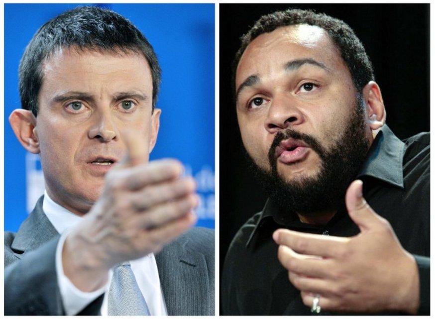 """BFM TV nous apprend que Dieudonné a porté plainte, au mois d'avril dernier, contre Manuel Valls. Cette plainte pour """"injures et diffamation"""" a été déposée auprès de la Cour de justice de la République (CJR)."""