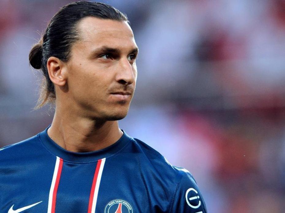 Il ne faut pas trop chercher Zlatan Ibrahimovic! Sinon, vous serez sûr de le trouver.