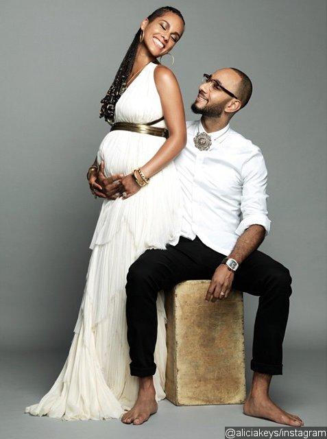 Alicia Keys de nouveau enceinte de Swizz Beatz