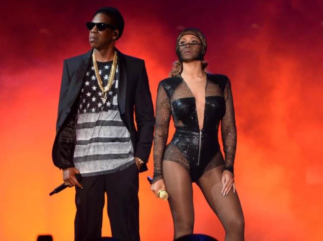 Jay-z et Beyonce en concert au Metlife Stadium