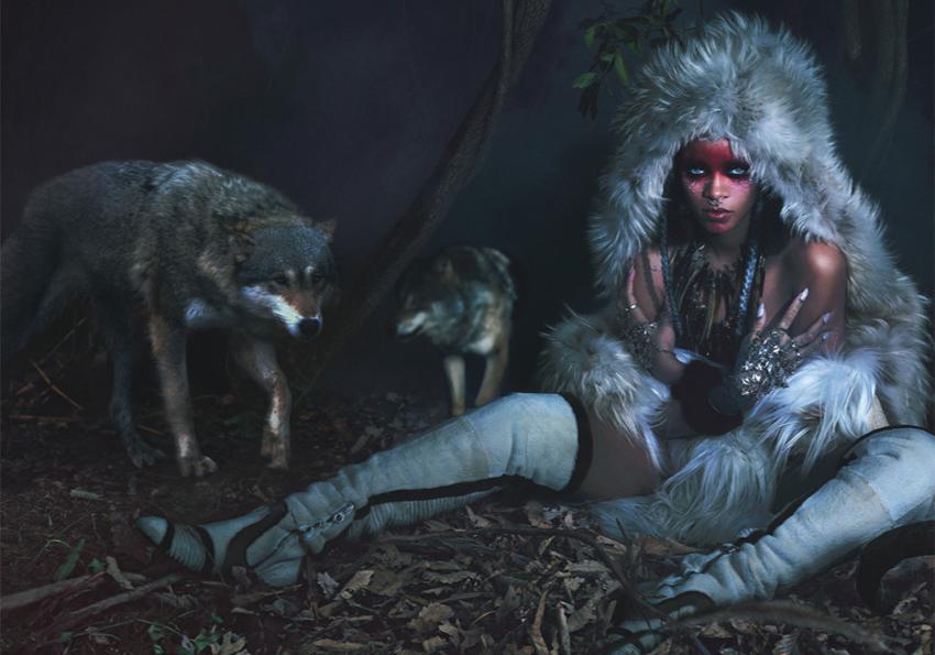 Rihanna sort le grand jeu pour W Magazine  !