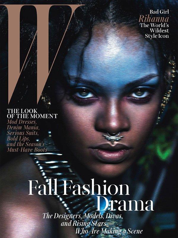 Rihanna une de Wmag