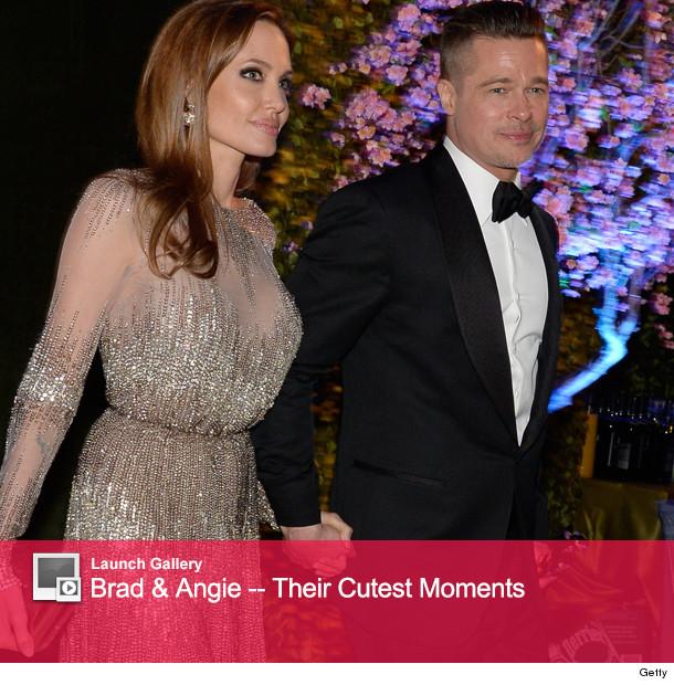 Brad Pitt et jolie