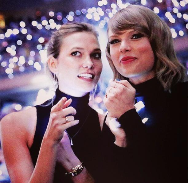 Karlie Kloss et Taylor Swift