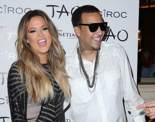 Khloé Kardashian à propos de French Montana : « Nous traînons ensemble. »
