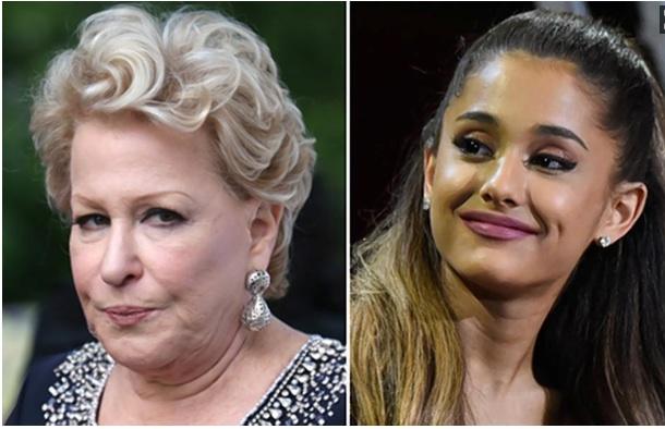 Ariana Grande réagit au clash de Bette Midler !
