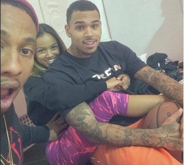 Chris Brown et Karrueche Tran enceinte