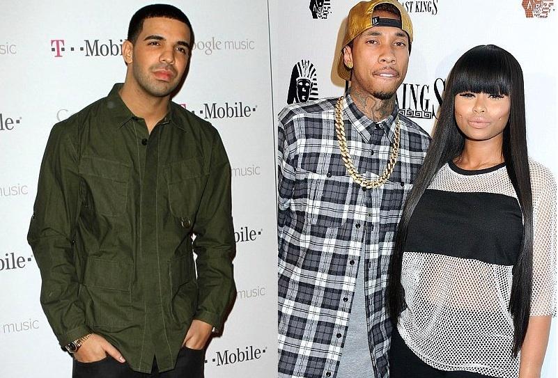 Drake, Tyga et Blac Chyna se clashent !