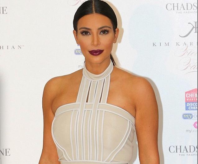 Kim Kardashian nue