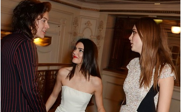 Harry Stles, Kendall Jenner et Cara delevingne à la British Fashion Awards