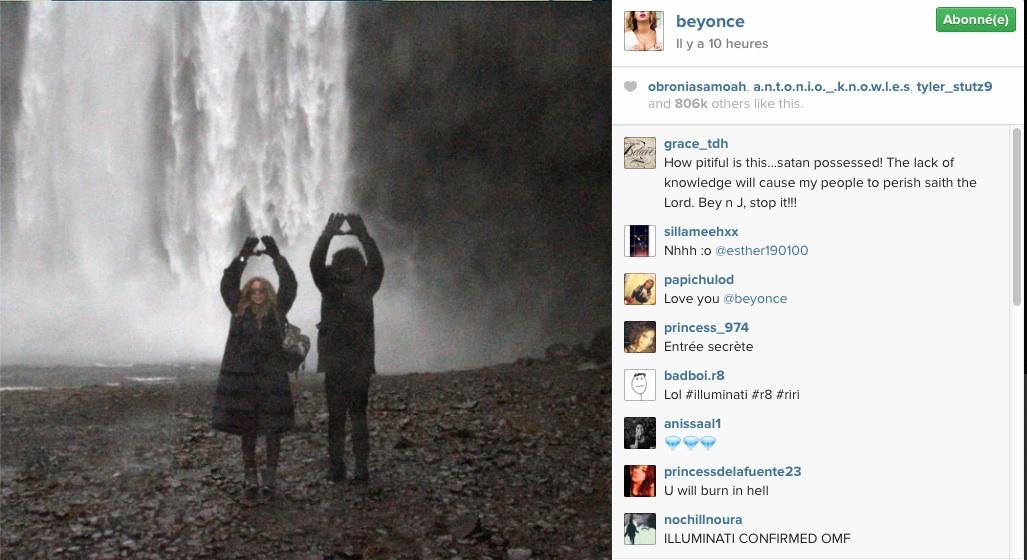 Illuminati Beyoncé