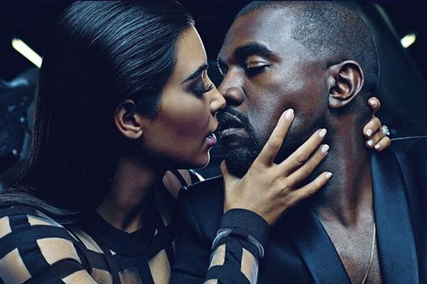 Kim Kardashian et Kanye West en attraction pour Balmain