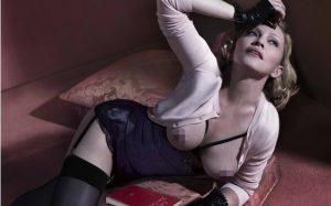 Madonna pose pour Interview