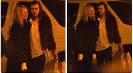 Harry Styles et Nadine Leopold