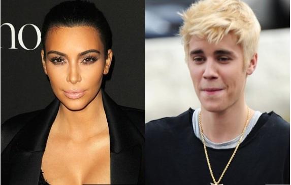 kim Kardashian évince Justin Bieber