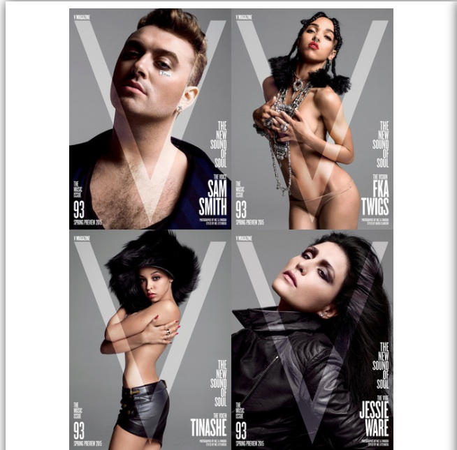 Sam Smith, FKA Twigs, Jessie Ware, Tinashe