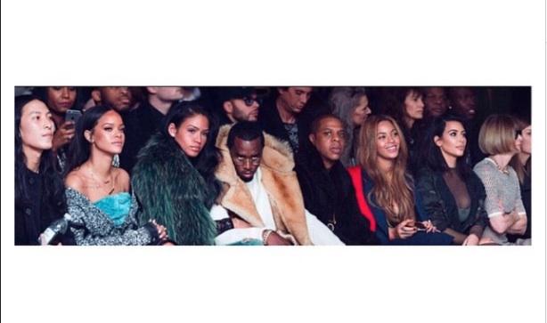 Les stars aux premières loges de la Fashion Week de Yeezy