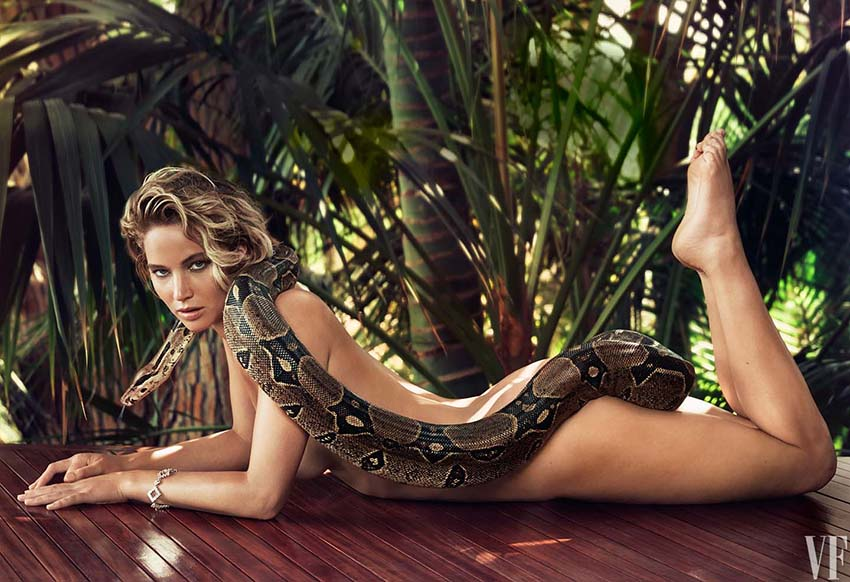 Jennifer Lawrence serpent