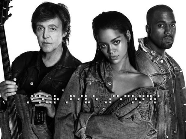FourFiveSeconds : La surprise de Rihanna à ses fans est dans la place !