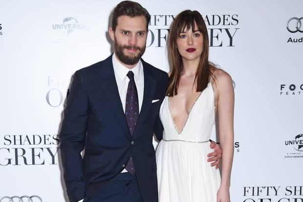 Jamie Dornan et Dakota Johnson