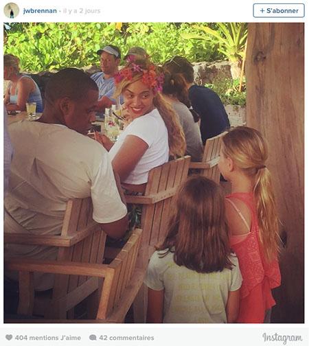 Beyoncé et Jay-Z approché en plein dîné par des enfants