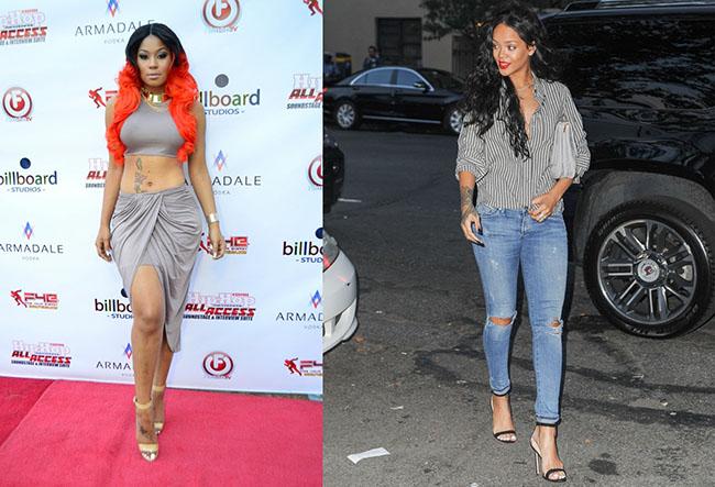 Just Brittanyaccuse Rihanna de plagiat