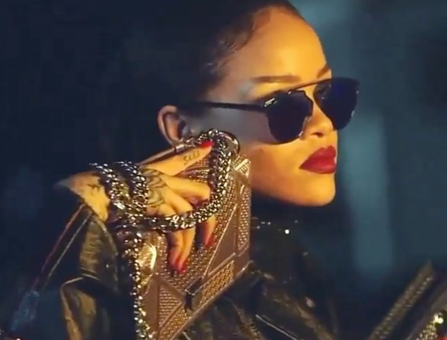 Rihanna, des images de la nouvelle campagne de Dior fuitent
