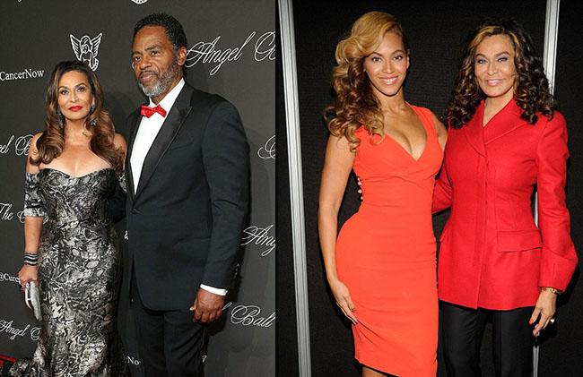 Beyoncé Tina Knowles et l'acteur Richard Lawson