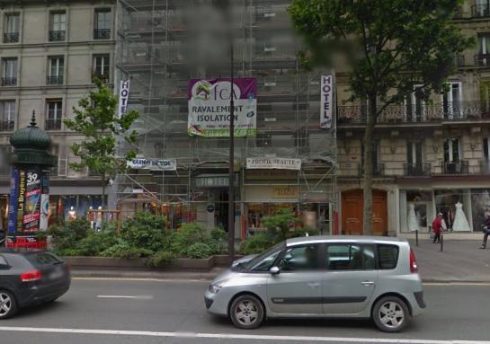 Un homme avec une bombe à Paris 14e