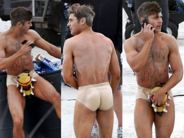 Zac Efron presque nu pour Dirty Grandpa !