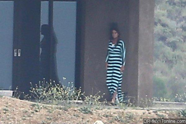 Bruce Jenner en longue robe.
