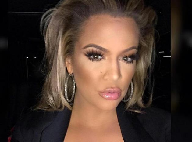 khloe kardashian, son maquillage fait le buzz
