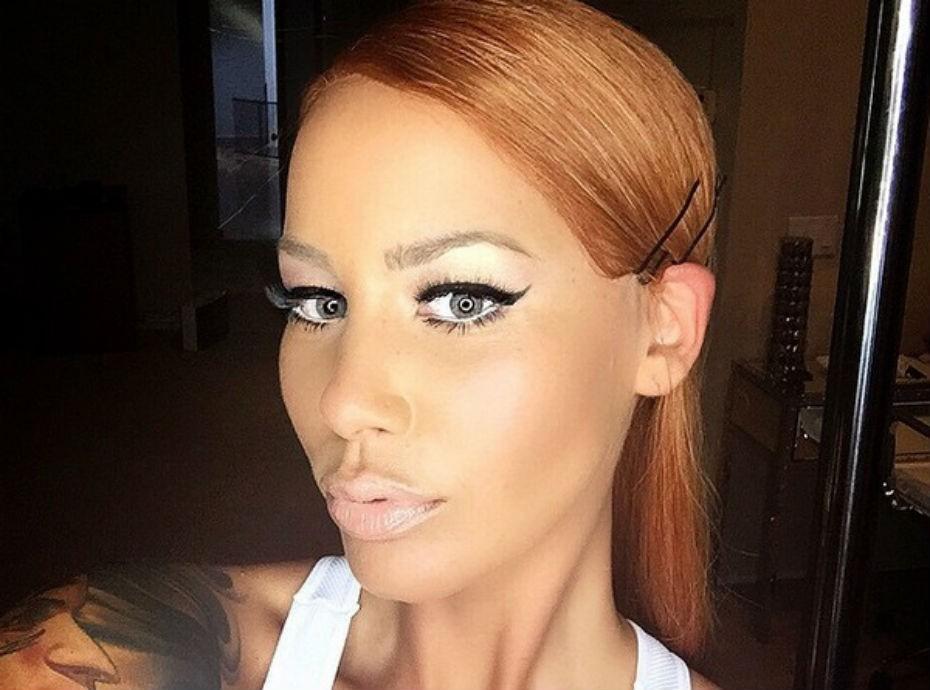 Amber Rose - nouvelle coupe de cheveux