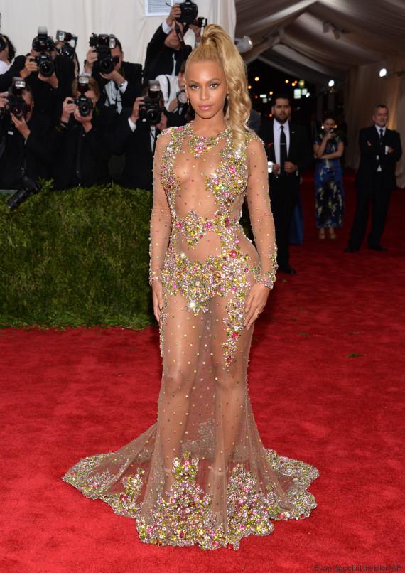 MET Gala 2015 : Beyoncé ose la transparence !