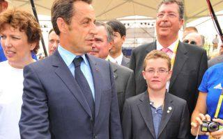 Nicolas Sarkozy président du PSG, son fils en rêve