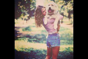 Jennifer Aniston et son animal de compagnie