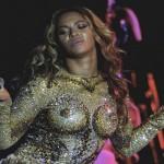 Bien que plus réservée, juste un peu, la chanteuse Beyoncé âgée de 33 ans a aussi une très belle protection