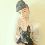 Le bouledogue français de Lady Gaga
