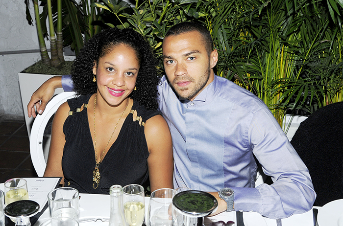 Jesse-Williams-and-fiancee-Aryn-Drake-Lee vont avoir un nouvel enfant