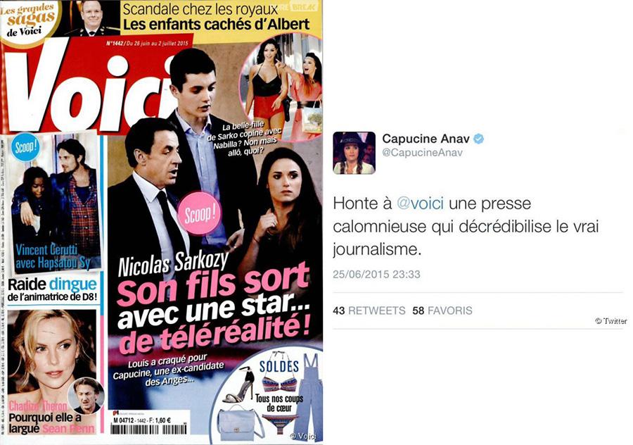 Louis Sarkozy et Capucine