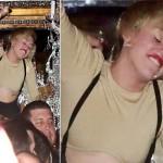 À 22 ans, la chanteuse américaine Miley Cyrus est une personne toute différente en soirée, et l'alcool y est certainement pour quelque chose…
