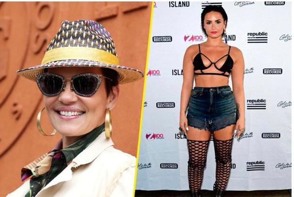 Quand Cristina Cordula s'en prend au look de Demi Lovato !