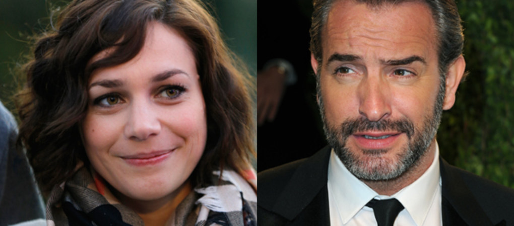 Jean dujardin et nathalie p chalat futurs parents for Jean dujardin parents
