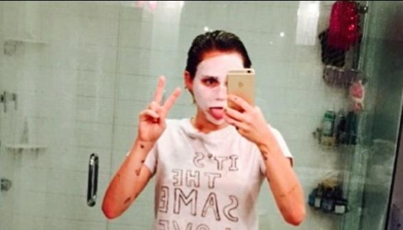 Miley Cyrus : Au réveil et sans maquillage !