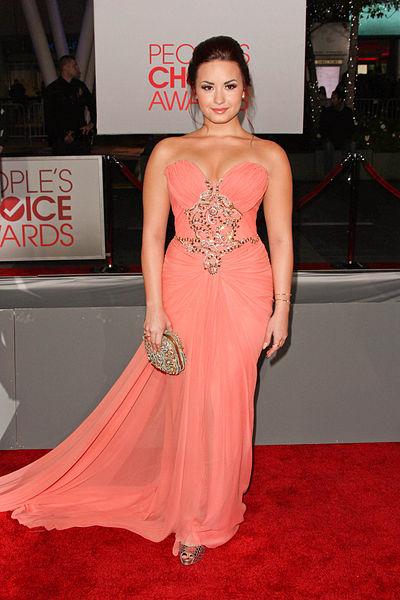 01/11/2012 - Demi Lovato - People's Choice Awards 2012 - Arrivals - Nokia Theatre LA Live - Los Angeles, CA, USA - Keywords:  Orientation: Portrait Face Count: 1 - False - Photo Credit: Andrew Evans  / PR Photos - Contact (1-866-551-7827) - Portrait Face Count: 1