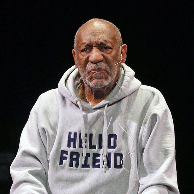 Comedian Bill Cosby performs at the Buell Theater in Denver, Saturday, Jan. 17, 2015. Cosby, 77, is facing sexual assault accusations from at least 15 women, with some of the claims dating back decades. He has denied the allegations through his attorney and has never been charged with a crime. (AP Photo/Brennan Linsley)
